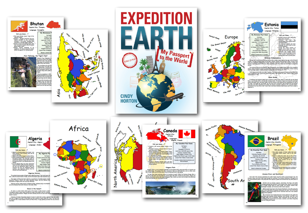 Expedition Earth pages