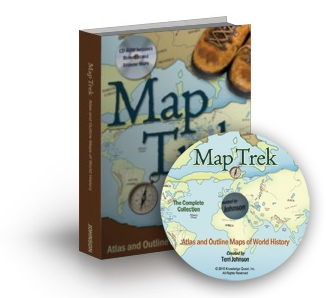 MapTrek hardcover & cd