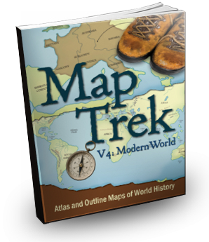 Map Trek Modern World