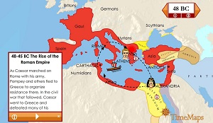 Rise of Roman Empire TimeMap