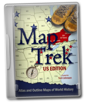 Map Trek: US Edition